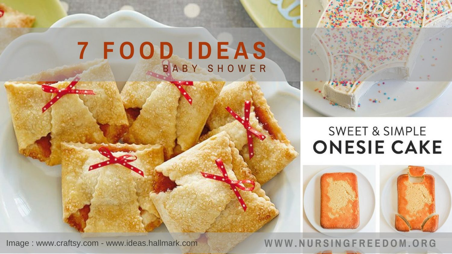 10 Food Ideas For Baby Shower Nursing Freedom